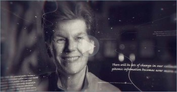 Still from the video of a smiling Betsy Humphreys