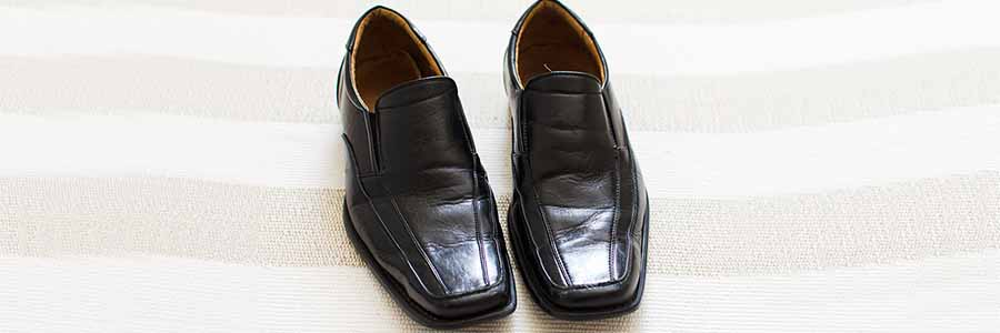 black men's dress shoes